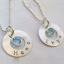 "Simple & Sweet ""mommy"" Jewelry @ ModMomMaternity.com"