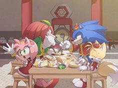 かん咲 on Twitter. Sonic The Hedgehog, Shadow The Hedgehog, Sonic And Amy, Sonic And Shadow, Amy Rose, Sonic Unleashed, Sonic Funny, Sonic Mania, Sonic Heroes