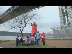 This is a great video showing the subject of The Little Red Lighthouse and the Great Gray Bridge