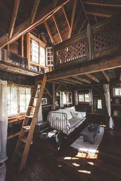 Living Room Bedroom Loft #LivingRoom #Bedroom #Loft