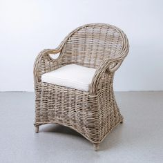 Rattan Dining Chairs, Modern Dining Chairs, Dining Chair Set, Outdoor Chairs, Outdoor Furniture, Outdoor Fabric, Side Chairs, Mid-century Modern, France