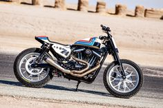 Everybody loves the classic Harley XR-750 flat tracker. Here's how to give your modern-day Sportster a touch of that vintage style.