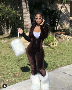 Boujee Outfits, Baddie Outfits Casual, Swag Outfits For Girls, Teenage Girl Outfits, Cute Swag Outfits, Dope Outfits, Teen Fashion Outfits, Classy Outfits, Afro