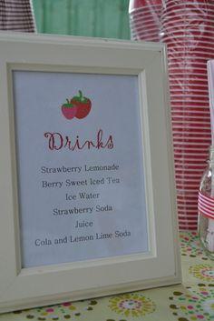 "Photo 3 of 31: Strawberry Shortcake and Strawberries / Birthday ""Strawberry Themed 3rd Birthday"" | Catch My Party"