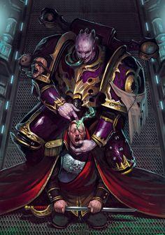 Chaos Space Marine Slaanesh Champion