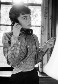 Audrey Hepburn photographed by Dennis Stock on the set of Sabrina, Long Island, New York, 1954 1992 Film, Happy Photos, Roman Holiday, British Actresses, Stevie Nicks, Audrey Hepburn, Role Models, Anastasia, Nostalgia