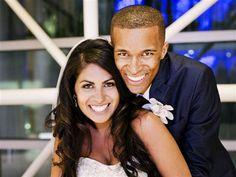 Amanda Rowan and her groom, Ryan Leak. Groom surprised his bride with her dream pinterest wedding....Awesome :)