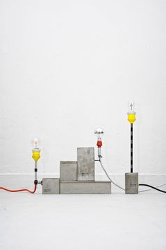 157+173 turn bare construction material into unique lights | The Greek Foundation