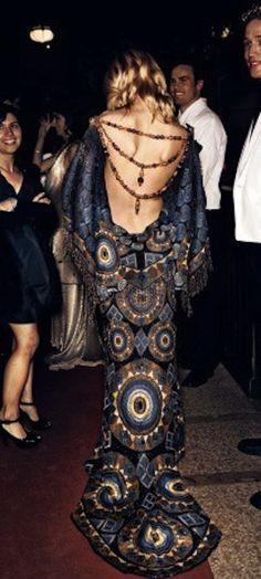 Dior haute couture dress by John Galliano - hippie style - boho - gypsy Hippie Look, Hippie Style, Mode Hippie, Bohemian Mode, Gypsy Style, Hippie Bohemian, Boho Gypsy, Jessica Stam, Dior Haute Couture