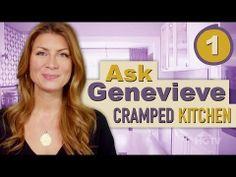 Enlarging a Cramped Kitchen - Ask Genevieve - Episode 1 - YouTube
