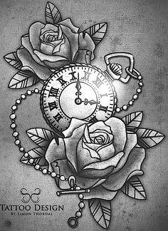 ideas tattoo wrist geometric tatuajes for 2019 Hook Tattoos, Watch Tattoos, Time Tattoos, Forearm Tattoos, Body Art Tattoos, New Tattoos, Sleeve Tattoos, Tattoos For Guys, Clock Tattoo Design