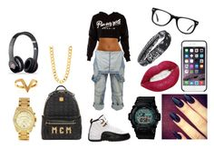 #21 by taymoney432 on Polyvore featuring polyvore, ファッション, style, Crafted, MCM, G-Shock, Michael Kors, Janis Savitt, Black Apple, Forever 21, Muse, Retrò, Beats by Dr. Dre, fashion and clothing