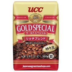 (UCC) Gold Special RICH Blend Coffee Beans  (360 grams)