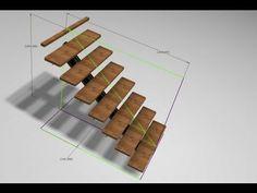 Autodesk Inventor - Flexible Staircase Skeleton Modeling - YouTube