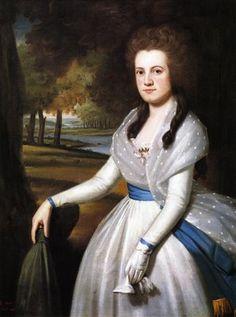 1789 Ralph Earl (1751-1801). Mariann Wolcott.