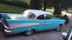 Dual Quads: 1957 Chevy Bel Air #USA #American, #Chevrolet, #MuscleCars, #Projects - https://barnfinds.com/dual-quads-1957-chevy-bel-air/