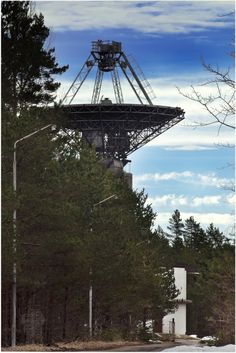 Secret Soviet Radio Telescope. Closed Town. Irbene | Cold war sites