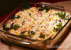 Clipe dulci si parfumate: Salata norvegiana cu peste marinat