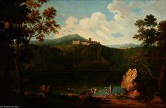 Vue de Castel Gandolfo de Richard Wilson