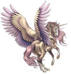 Pegasus - Suavium by BronzeHalo on DeviantArt Pegasus Tattoo, Magical Creatures, Fantasy Creatures, Creature Fantasy, Unicorn Tattoos, Winged Horse, Unicorn Pictures, Unicorn Art, Mythological Creatures