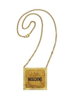 Jeremy Scott, Moschino, H&m Collaboration, Higher Design, Tv, Gold Necklace, Purses, Images, Jewelry
