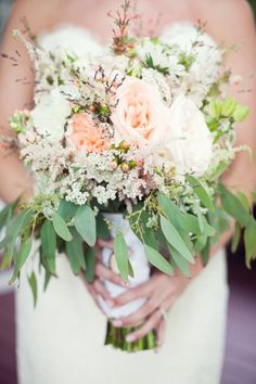 Do you dream of lush gardens for your wedding style? Let your bouquet be inspired by the unstructured flow of wild gardens #cedarwoodweddings Dixieland Delight - Farm Destination Wedding at Cedarwood   Cedarwood Weddings