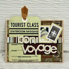 scrapbooking bon voyage