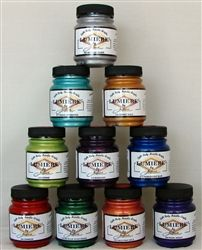 paint for leather boots on sassy feet site Individual Bottles of Lumiere Leather and Fabric Paint