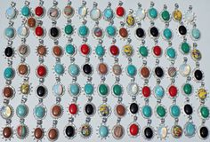 JEWELRY 100PC WHOLESALE LOT 925 STERLING! SILVER OVERLAY CHRISTMAS DAY GIPENDANT