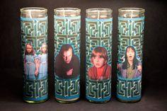The Shining - Horror Candle  Set of 4- Stanley Kubrick, Stephen King, Jack Nicholson, Shelley Duvall, Danny Lloyd