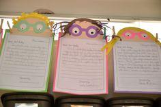 Classroom Freebies: Dear Ant Bully