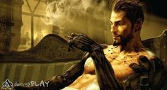 man with metal hands leaning on sofa while smoking digital wallpaper Deus Ex: Human Revolution Deus Ex Adam Jensen video games science fiction Video Game Trailer, Video Game Art, Video Games, Video Clip, Hd Desktop, Deus Ex Movie, Deus Ex Human, Deus Ex Mankind Divided, Character Wallpaper
