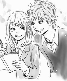 "I will repin this forever!!! This is My FAVORITE ship!!! And I think that this the best ""copule"" that Takano Ichigo has created!! I don't care anymore!! I said it ❤️❤️❤️❤️❤️❤️❤️❤️❤️❤️❤️❤️❤️❤️❤️❤️"