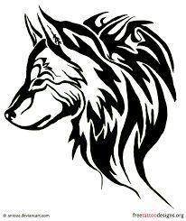 """Résultat de recherche d'images pour """"tatouage loup maori"""""""