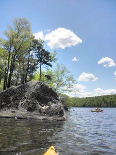 Kayaking Lake Ozonia ADK Kayaking, Scenery, River, Spaces, Summer, Outdoor, Outdoors, Kayaks, Summer Time
