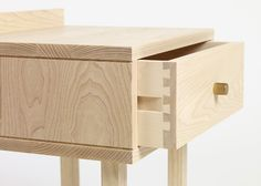 Sleep Series by Another Country for Heal's, traditional wooden runners and dovetail joints