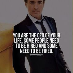 Robert Downey JR. motivation quotes
