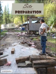 Site Preparation - the reality sinks in... Alternative Building | Construction Details