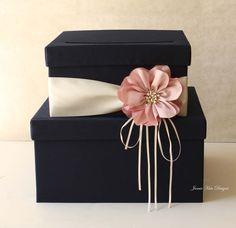 Wedding Card Box Wedding Money Box Gift Card Box - Custom Made. $100.00, via Etsy.