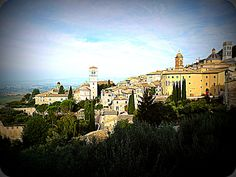 View of Assisi - italy