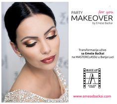 GOLDEN PRINCESS make-up by Emese Backai Visit me: www.facebook.com/EmeseBackai MAKEUP ACADEMY www.emesebackai.com
