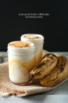 Bananas Foster Milkshake!