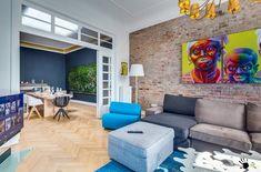Яркий дизайн-проект квартиры в стиле Лофт в Берлине