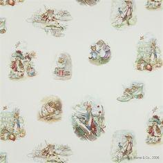 Jane Churchill Beatrix Potter Fabric