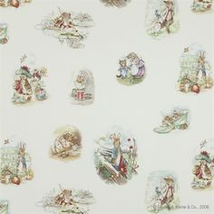 Jane Churchill Beatrix Potter Fabric