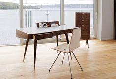 Bureau Point de Nissen & Gehl par Naver #scandinavian #homestyle #desk #wood
