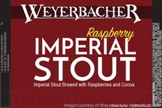 mybeerbuzz.com - Bringing Good Beers & Good People Together...: Weyerbacher - Raspberry Imperial Stout Returning T...