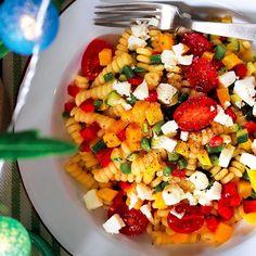 Fusilli 10 ways. Take your pick from one of our recipes. Fusilli Recipes, Pasta Recipes, Italian Diet, Italian Recipes, Fruit Salad, Cobb Salad, Smoked Tuna, Spiral Pasta, Cookery Books