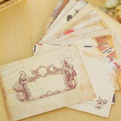12 шт./лот винтаж мини бумажный конверт scrapbooking конверты маленькие конверты kawaii канцелярские подароккупить в магазине Lifestyle Go StoreнаAliExpress