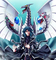 Yugioh - Zane and Cyber End Dragon